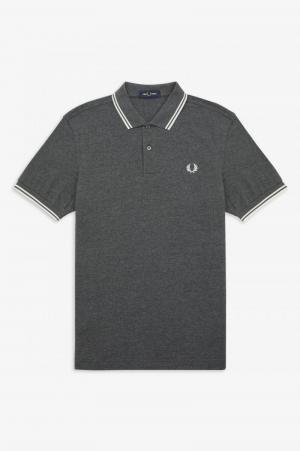 TWIN TIPPED F P SHIRT logo