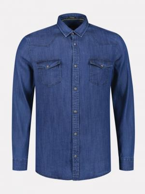 SHIRT LT DENIM logo