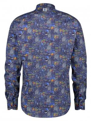 SHIRT BLUE CANALHOUSES BLUE MULTICOLOR