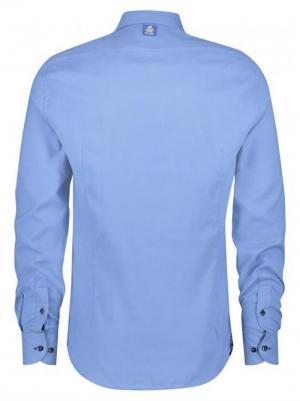 SHIRT BRUSHED BLUE