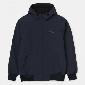 HOODED SAIL JACKET logo