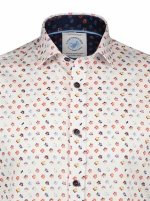 SHIRT FLOWER POWER WHITE MULTICOLO