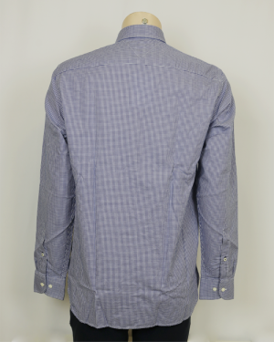 LIGHT OXFORD GINGHAM ELECTRIC BLUE